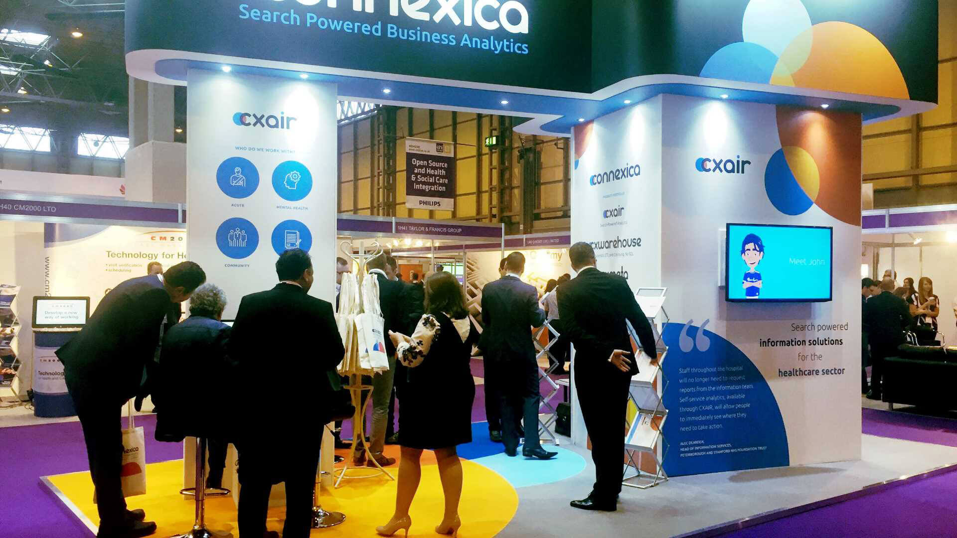 Connexica stand at ehi live
