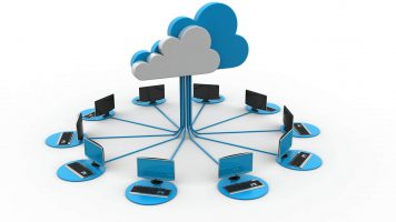 Computers connected to a cloud