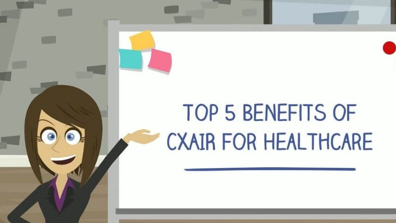 Top 5 Benefits of CXAIR for Healthcare Video Image