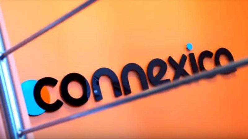 The Connexica Logo in the building for the About us Video Image