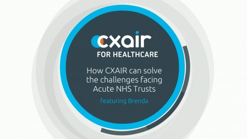 CXAIR for Acute NHS Trust Video Image