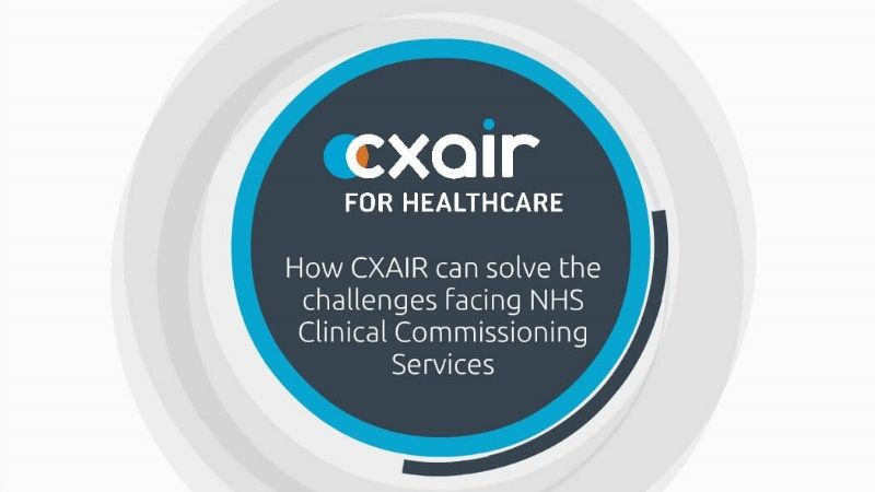 CXAIR FOr Clinical Commissioning Video Image