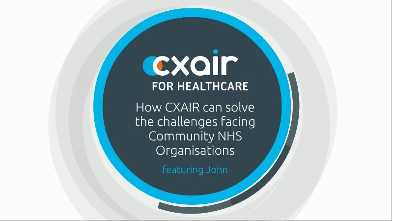 CXAIR Community NHS Video Image