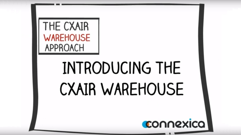 Introducing CXWAREHOUSE Video Image