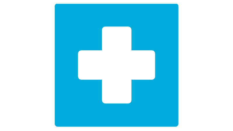 A healthcare cross