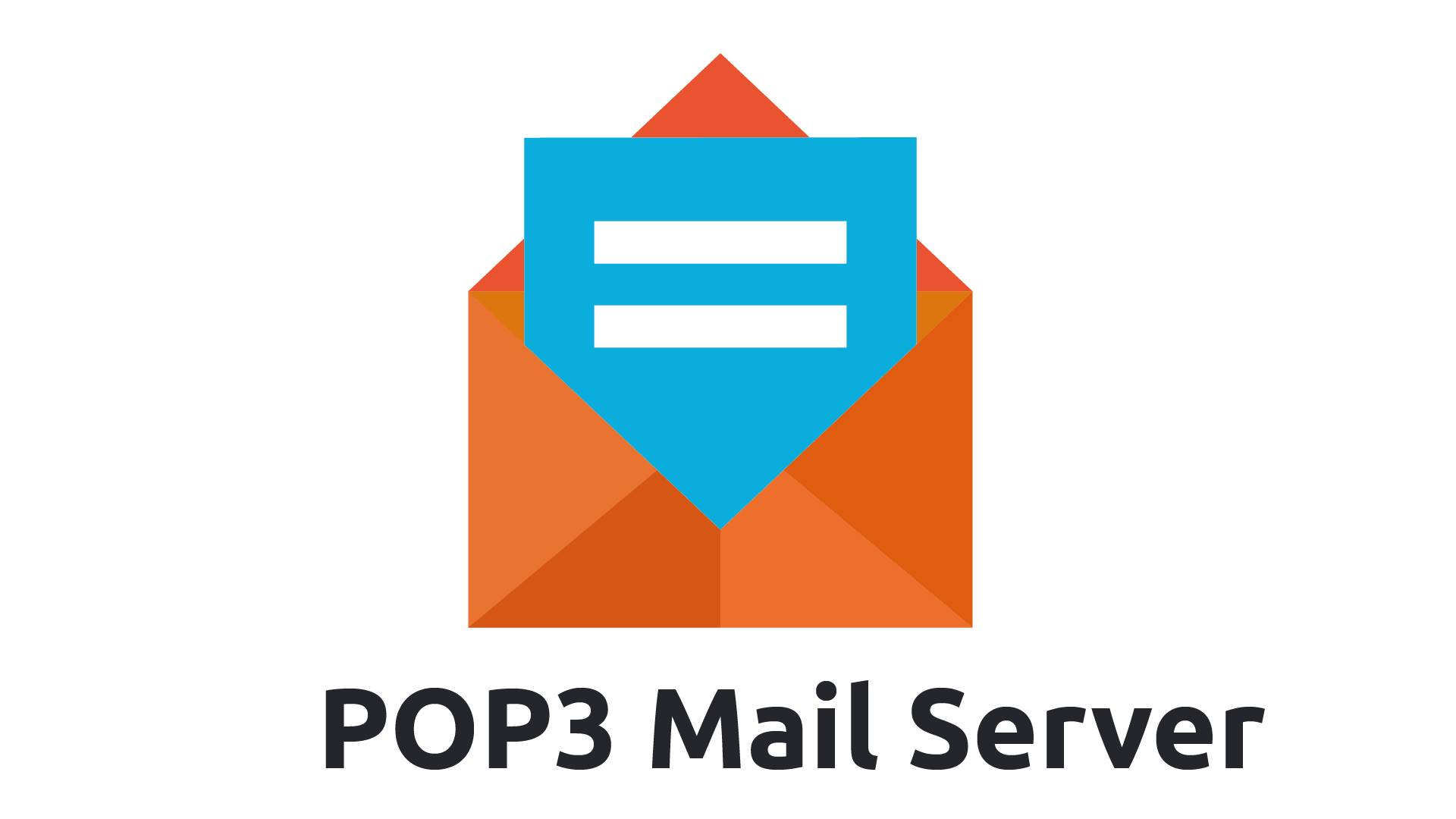 POP3 Mail Server Logo