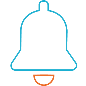 A bell Icon