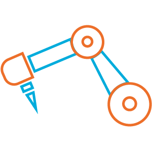 A manufacturing machine Icon